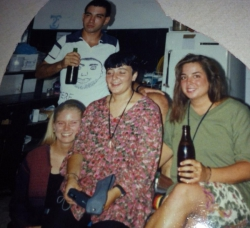 Maria and dont know the brunett 1992 — w-Barak Zimmerman and Julie Copestick